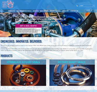Search Marketing Industrial Markets AHP Seals