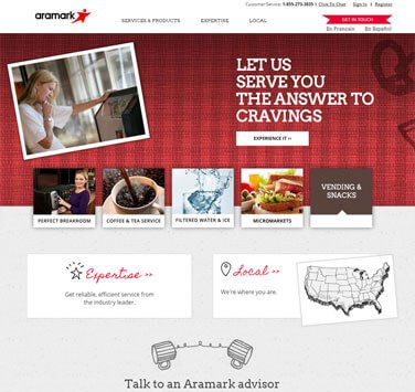 Search Marketing All Aramark