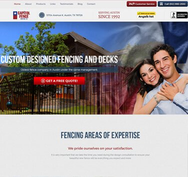 Search Marketing All Capitol Fence