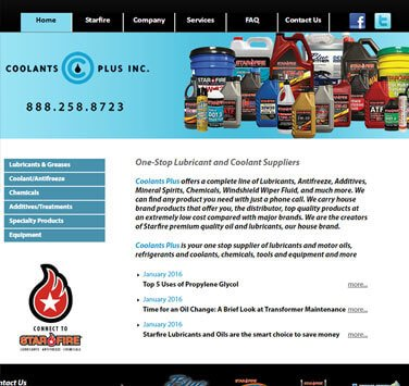 Search Marketing All Coolants Plus
