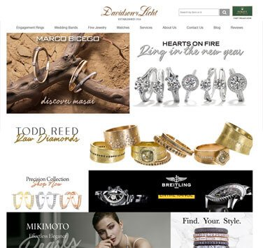 Search Marketing All Davisdon Licht Jewelers