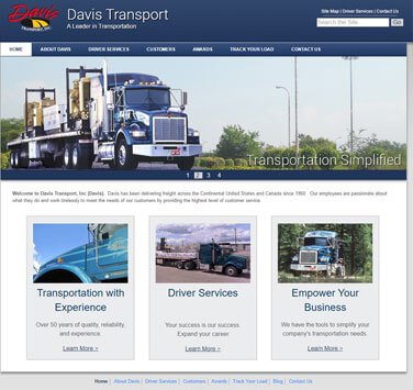 Search Marketing All Davis Transport