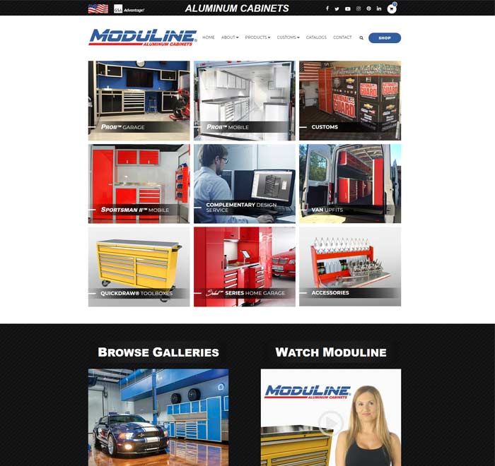 Search Marketing All Moduline Cabinets