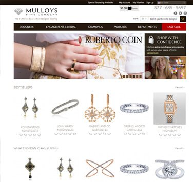 Search Marketing All Mulloys Jewelry