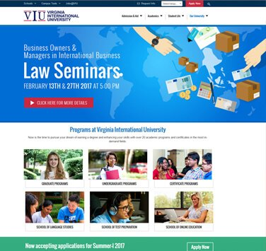 Search Marketing All Virginia International University