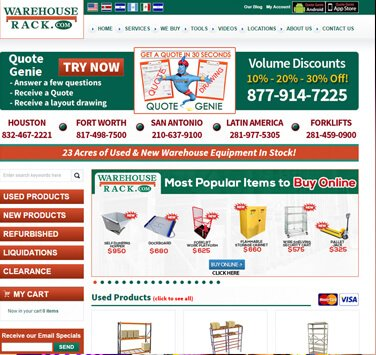 Search Marketing All Warehouse Rack