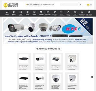Search Marketing Ecommerce Solutions Low Voltage Direct
