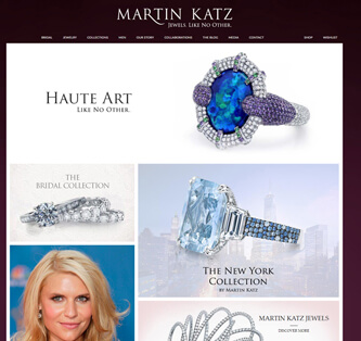 Search Marketing Consumer Products Martin Katz Jewelry