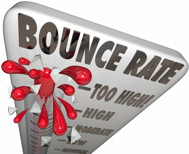 Get a free website analysis to review bounce rate