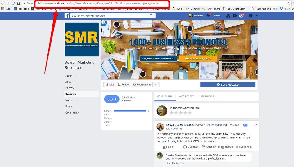 Using Facebook for business social media management